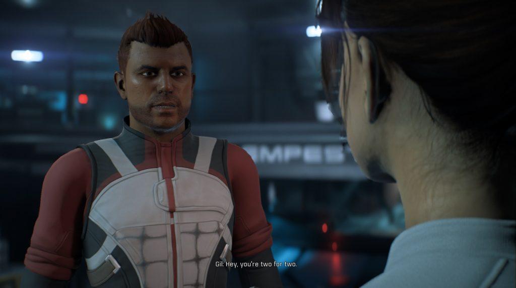 Mass Effect Andromeda Crew Gil