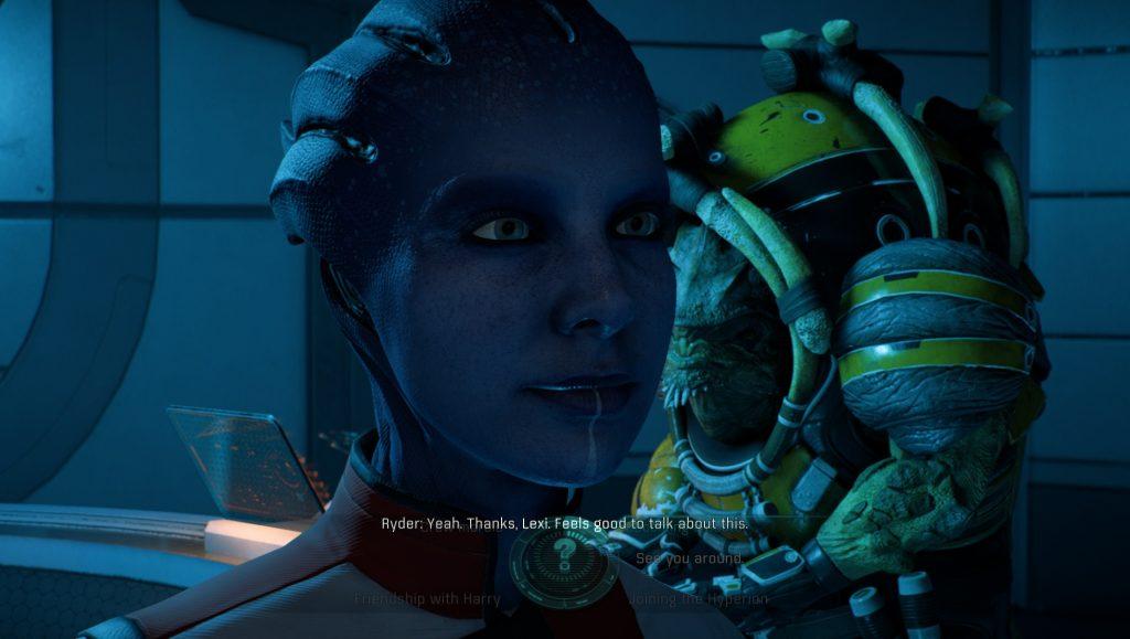 Mass Effect Andromeda Lexi
