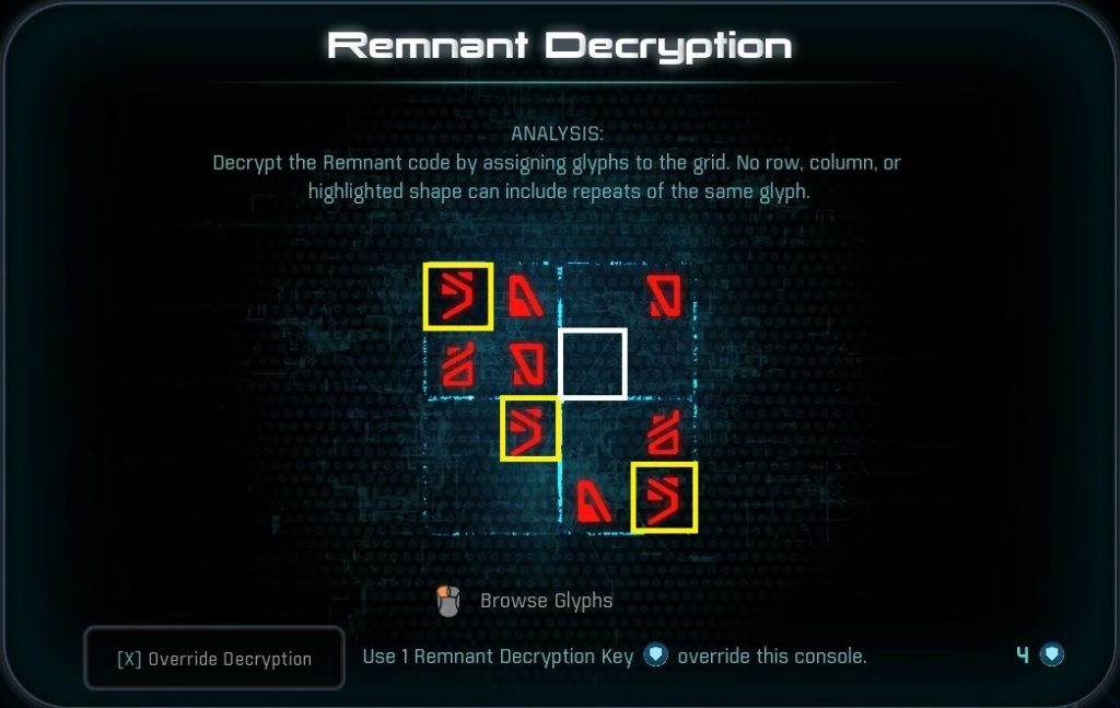 Mass Effect Andromeda Remnant Sudoku 2