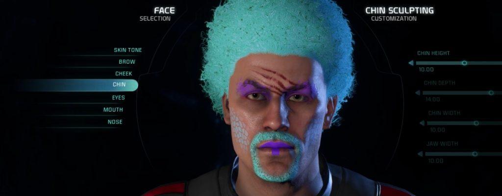 Mass Effect: Andromeda – Der Character Creator im Detail