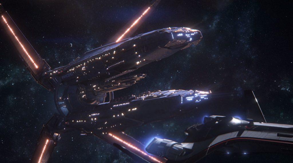 Mass Effect Andromeda Salarian Ark