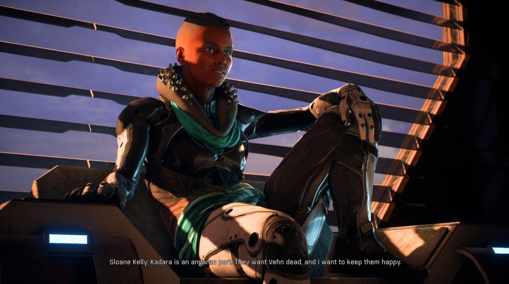 Mass Effect Andromeda Sloane Kelly