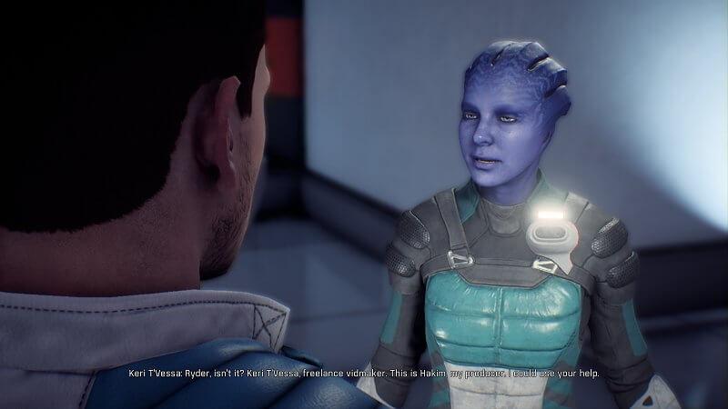 Mass Effect Andromeda keri