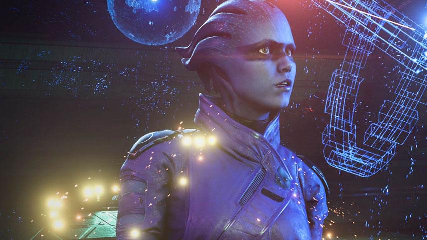 Mass Effect Andromeda peebee