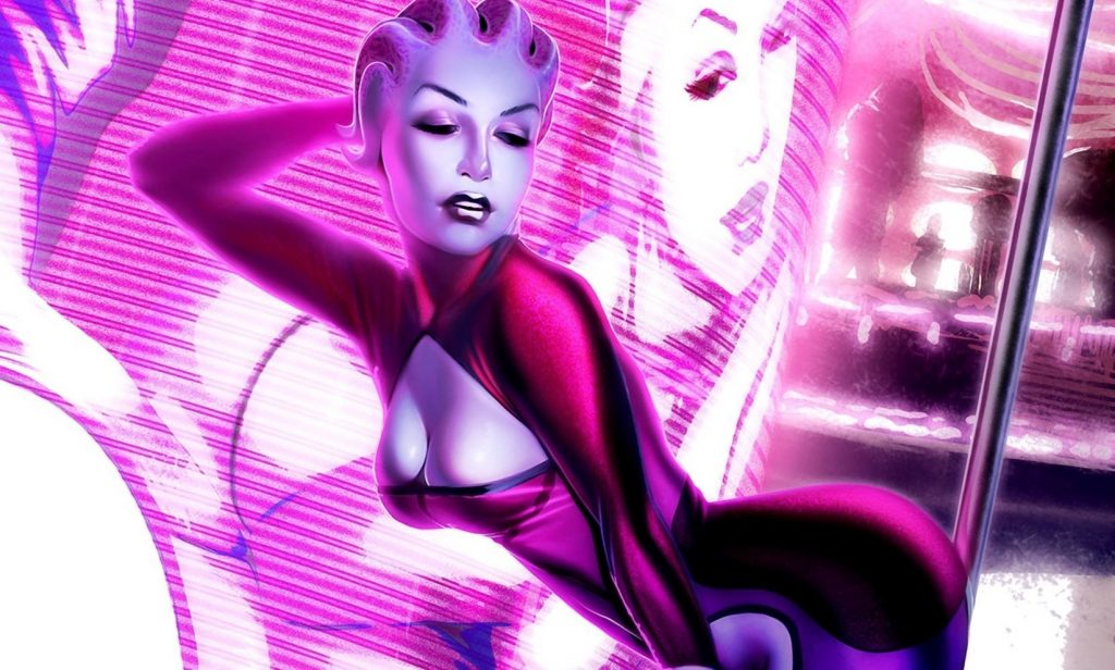 Mass Effect Asari Stripper