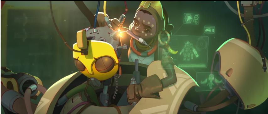 Overwatch: Die 9 Skins der neuen Heldin Orisa