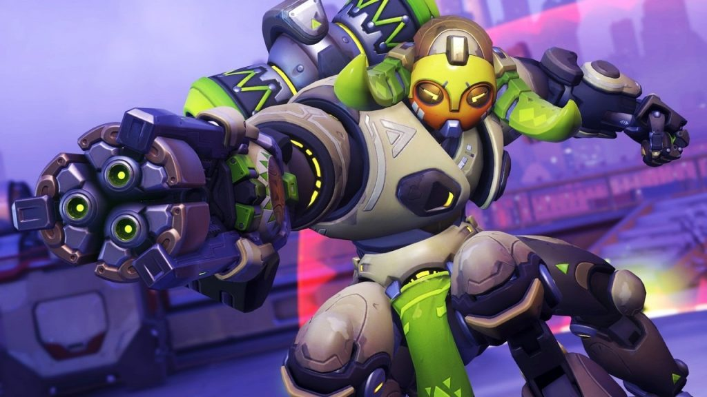 Overwatch Orisa Highlight