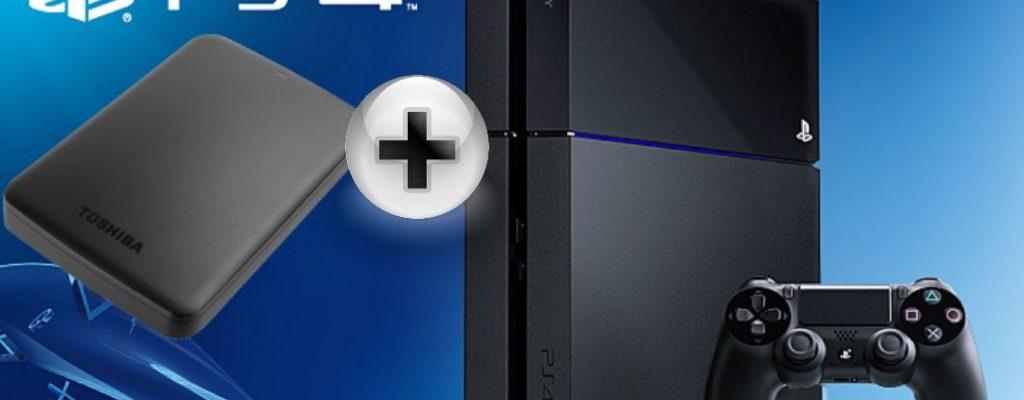 Die besten externen Festplatten für Eure PS4