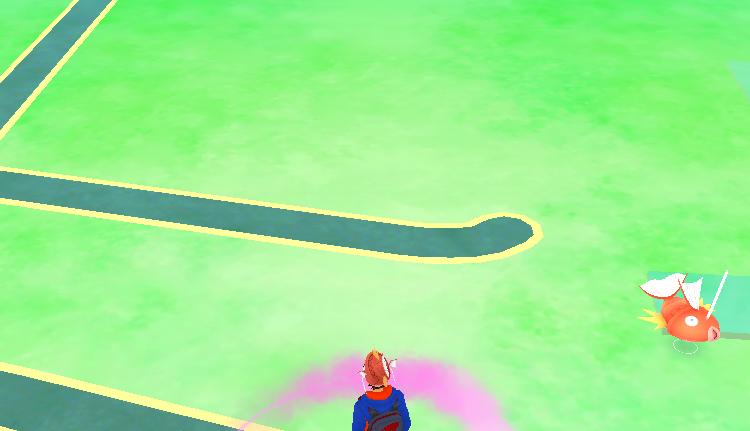 Pokémon GO Karpador Map