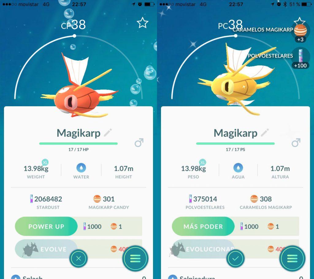 Pokémon GO Shiny Normal GOHUB