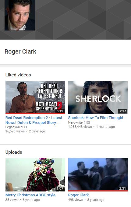 Roger Clark Youtube
