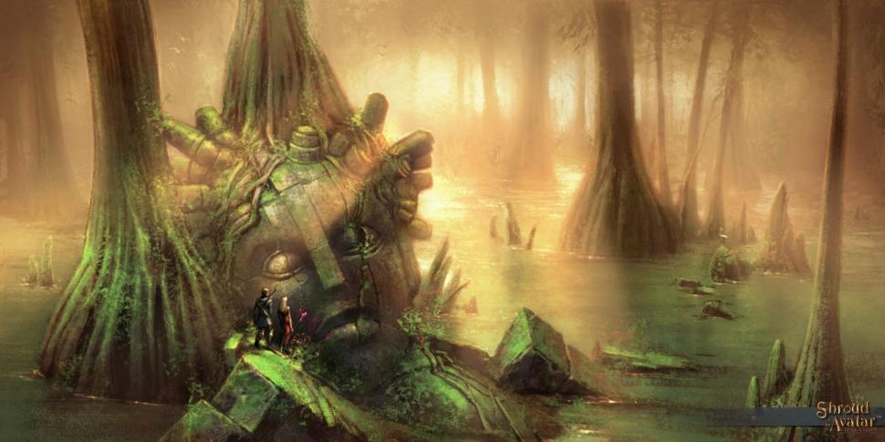 Shroud of the Avatar Sumpf
