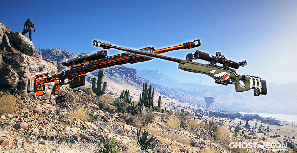 Ghost Recon Wildlands Sniper Titel