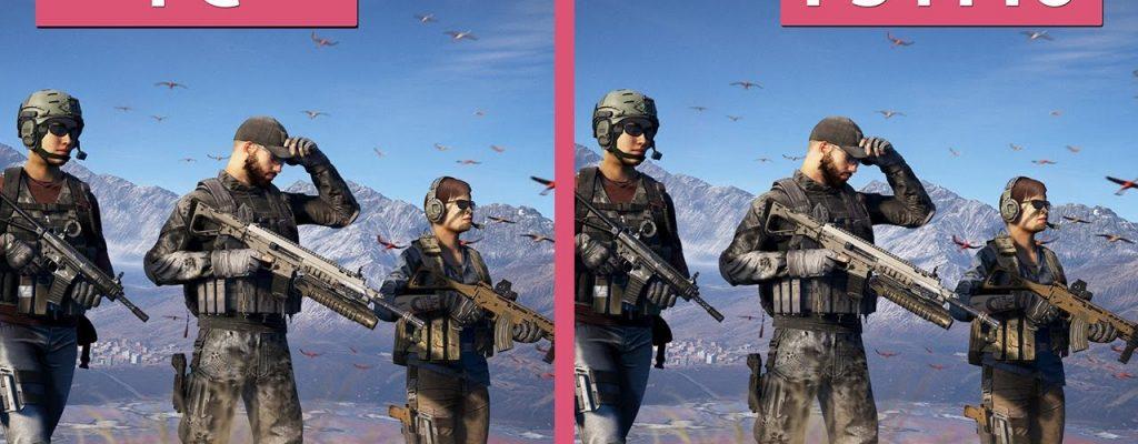 Ghost Recon Wildlands: PC und PS4 Pro im Grafik-Vergleich