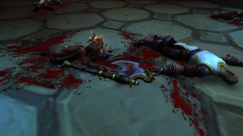 WoW Corpses Scarlet