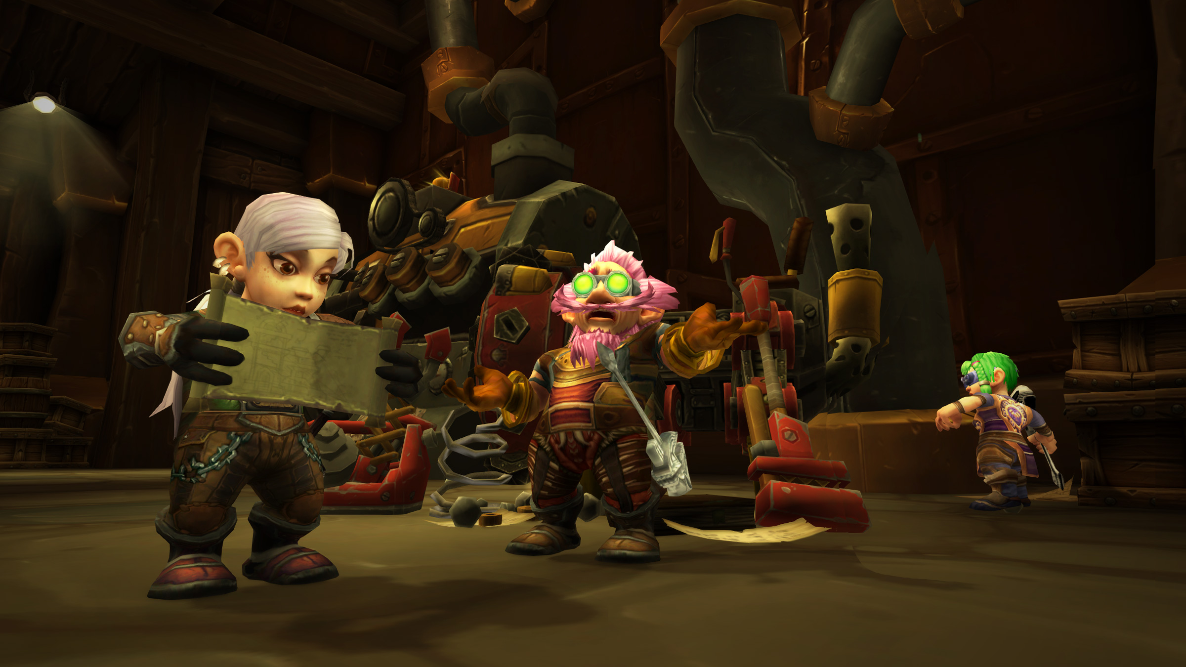 WoW Gnomes Patch Reading