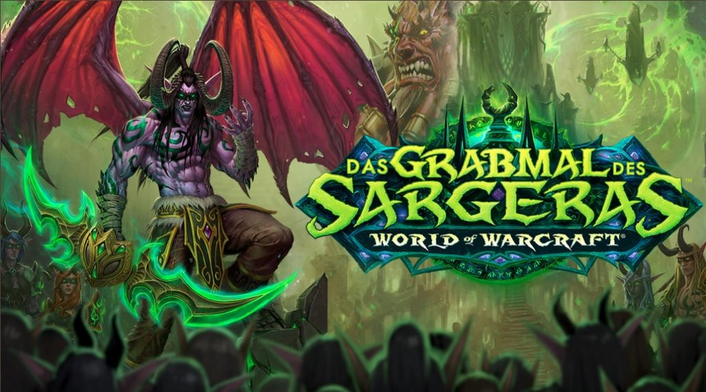 WoW Patch 72 Tomb of Sargeras Key Art