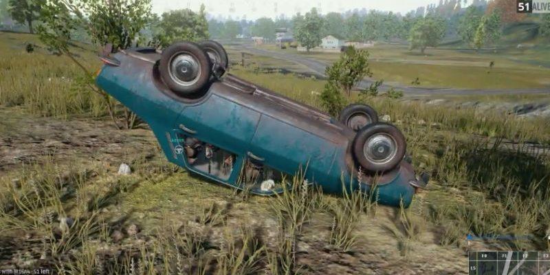 PlayerUnknown's Battlegrounds: Umgekipptes Auto – Schlüssel zum Sieg