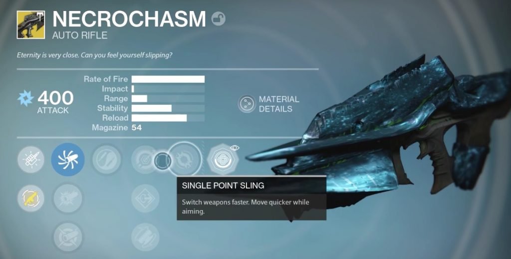 destiny necrochasm ornament