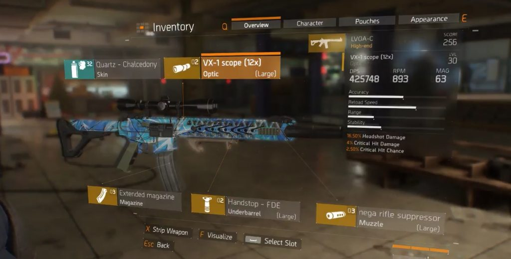 division waffen mods
