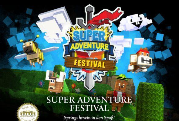"Guild Wars 2 trifft Super Mario im Event ""Super Adventure Festival"""