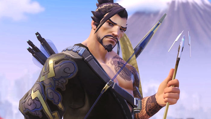 hanzo gameplay