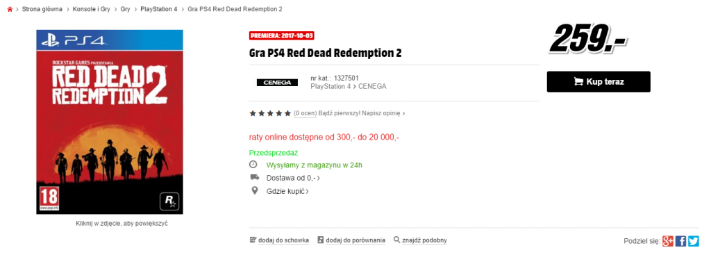 Red Dead Redemption 2 Media Markt