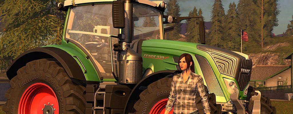 Amazon-Angebote am 2.4. – Landwirtschafts-Simulator 17, Curved-4K-TV