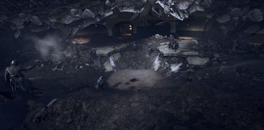 Battlefield 1 Pfütze