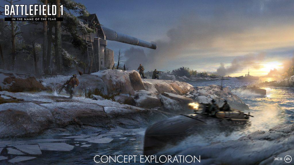 Battlefield 1 in the name of the Tsar konzept