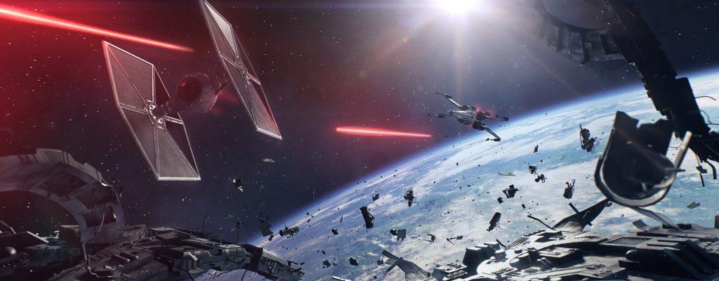 Star Wars Battlefront 2: Trailer zeigt erstmals Weltraumschlachten und Yoda