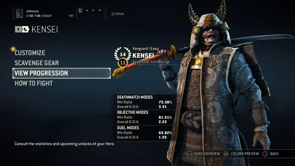 For Honor Kensei3