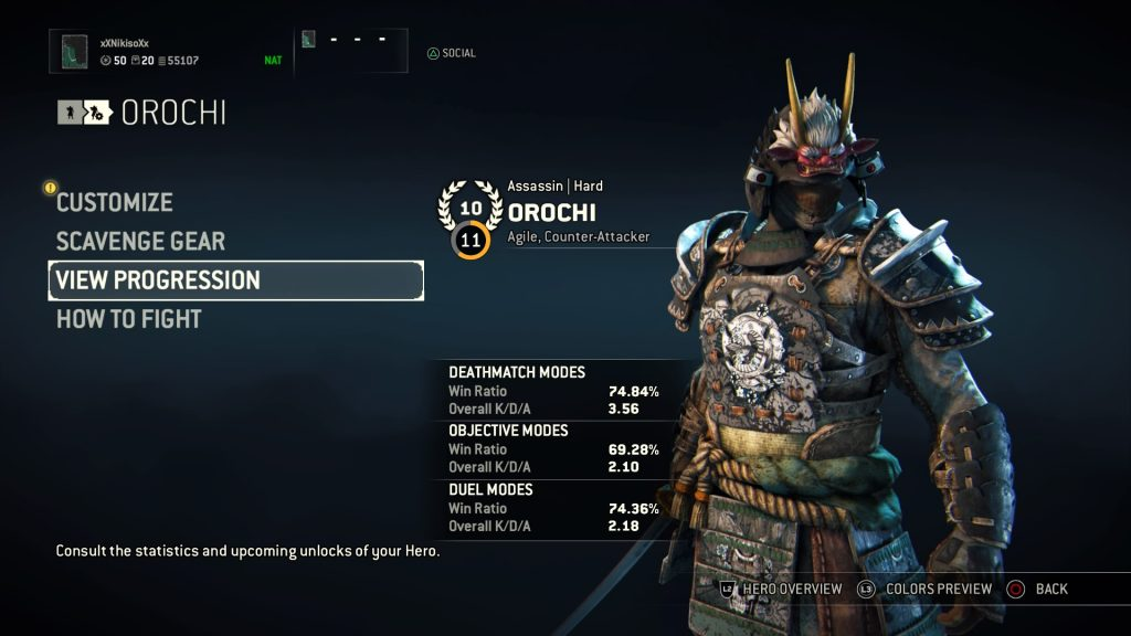 For Honor Orochi