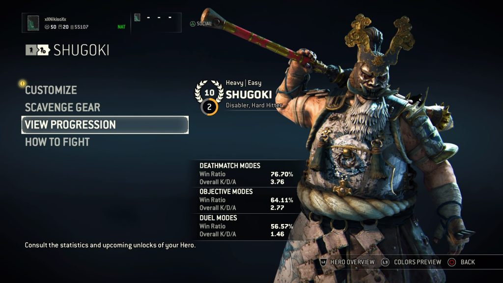 For Honor Shugoki