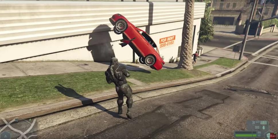 GTA 5 Crysis Mod Auto2