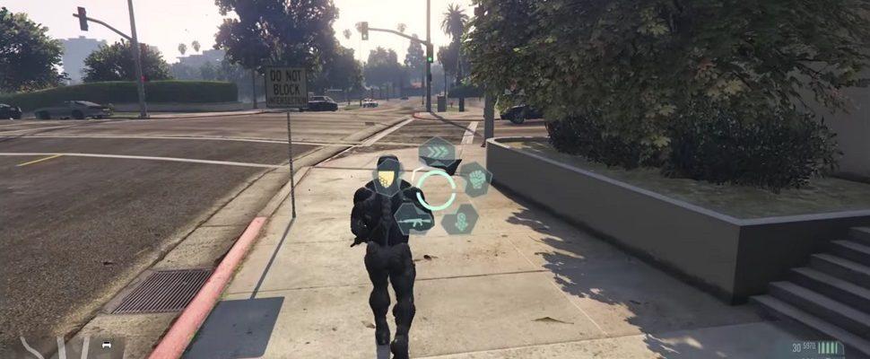 GTA 5 – Crysis Mod: Der Nanosuit gibt Euch besondere Kräfte
