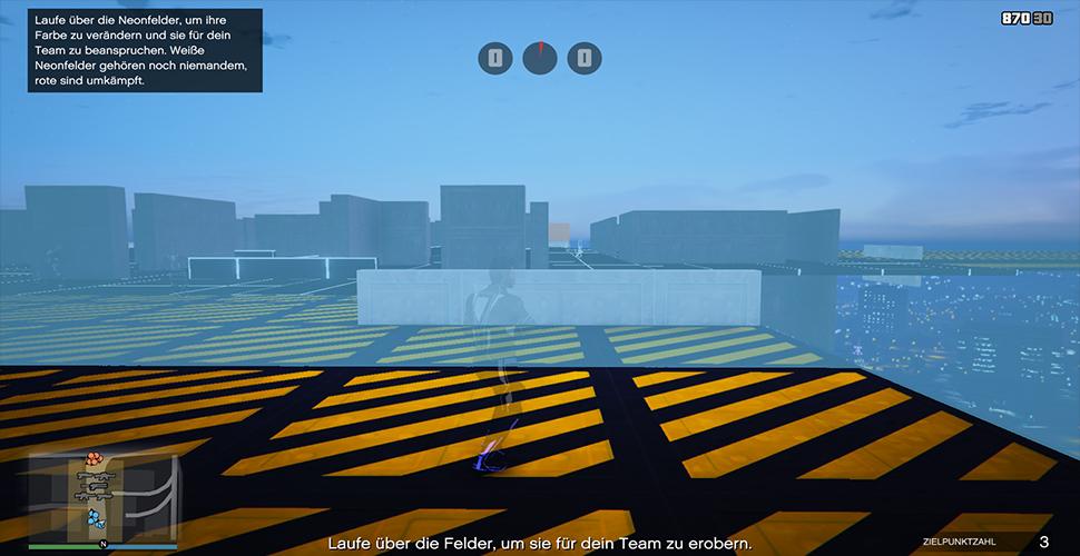 GTA 5 Online Land Grab Gameplay