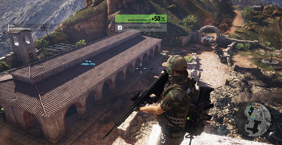 Ghost Recon Wildlands Vorräte Entfernung