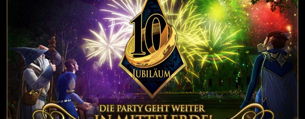 Herr der Ringe Online: Hobbit-Party – Geschenke zum 10. Geburtstag