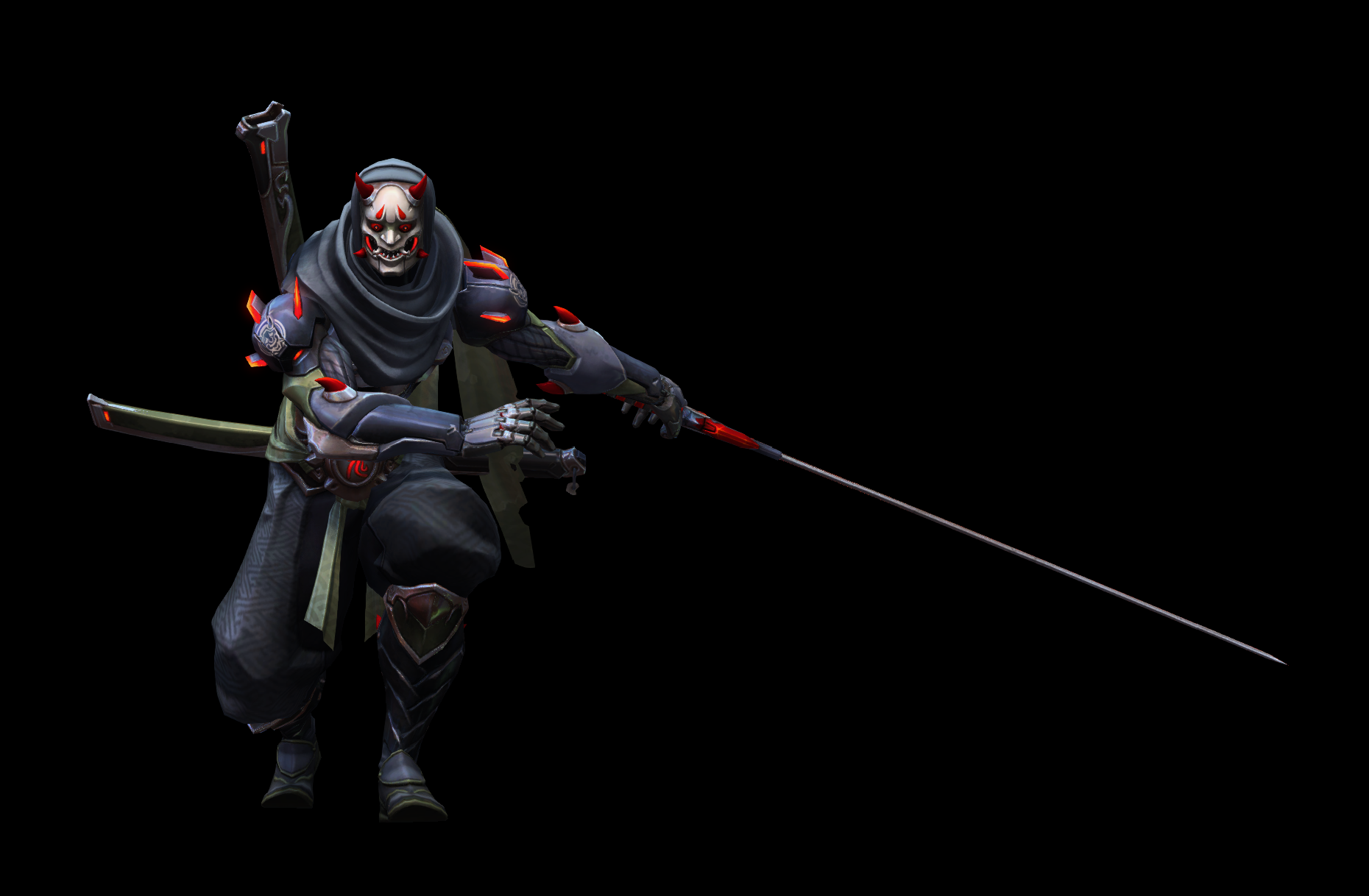 Heroes of the Storm Oni_Genji_2