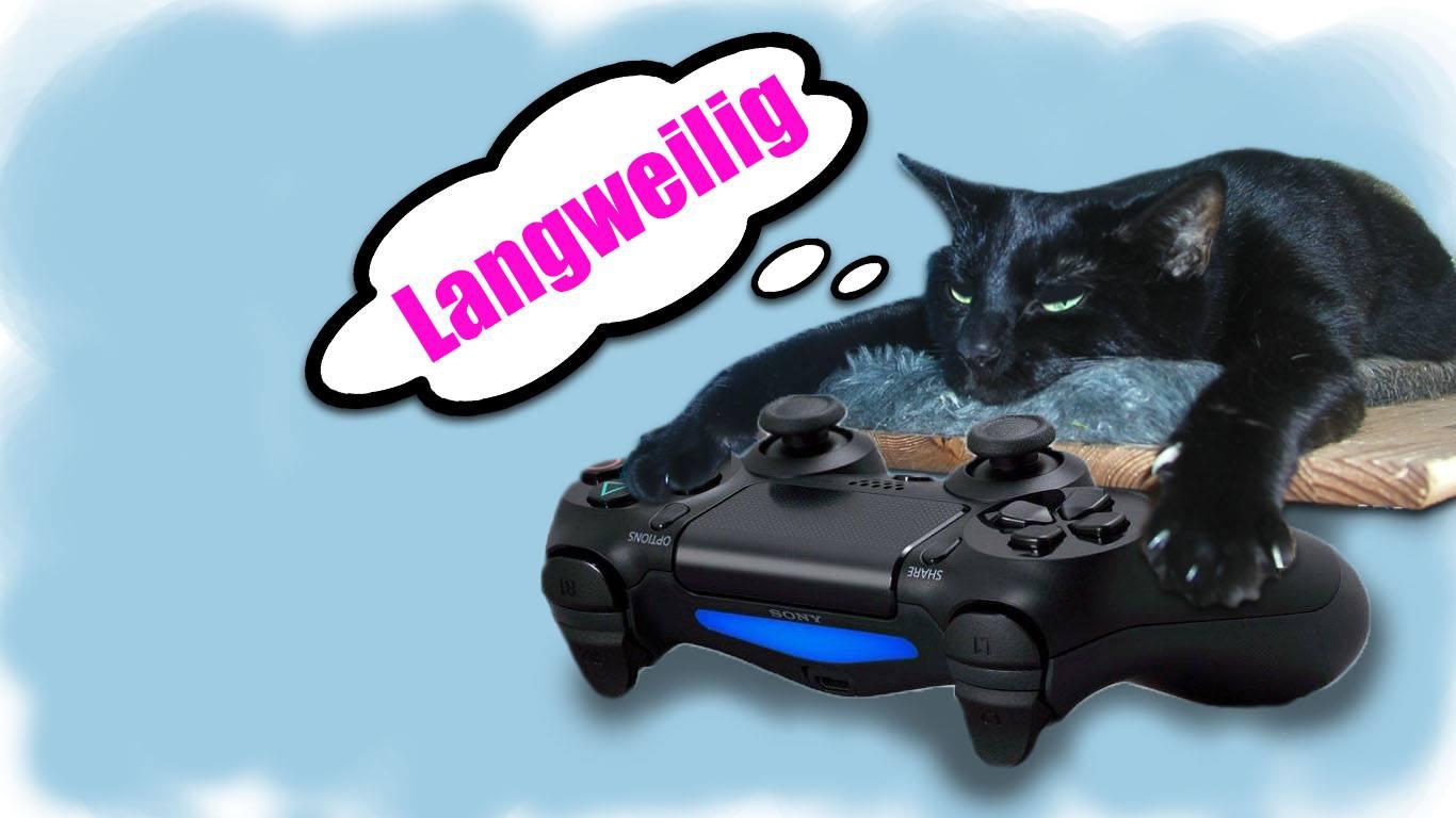 Katze-langeweile