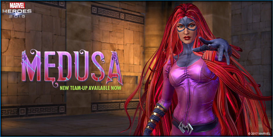 Marvel Heroes MEdusa