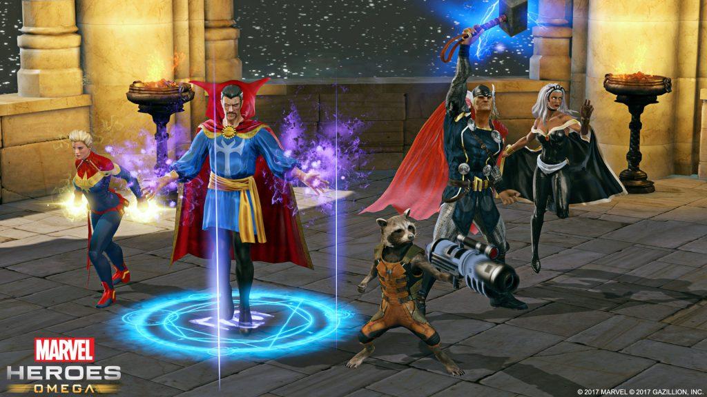Marvel-Heroes-Omega Charaktere