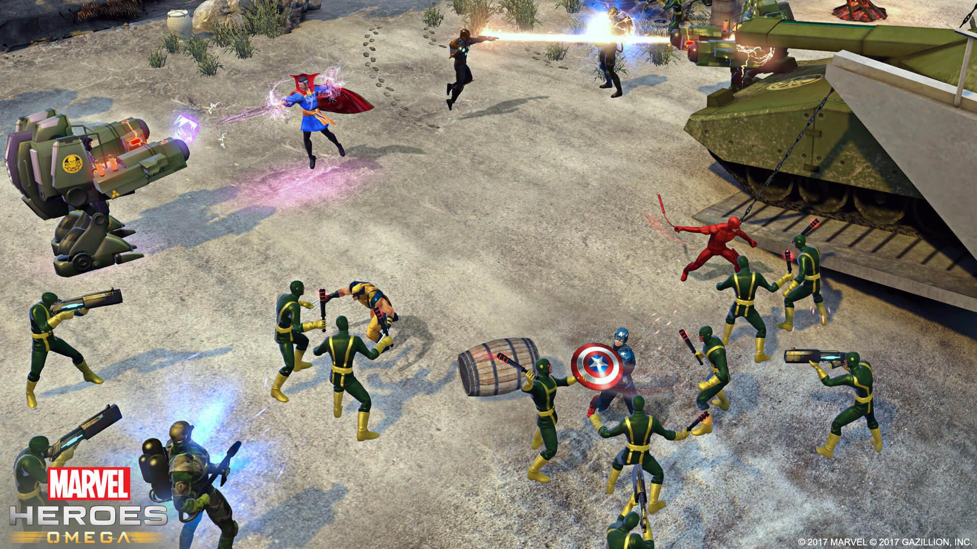 Marvel Heroes Omega Kampf