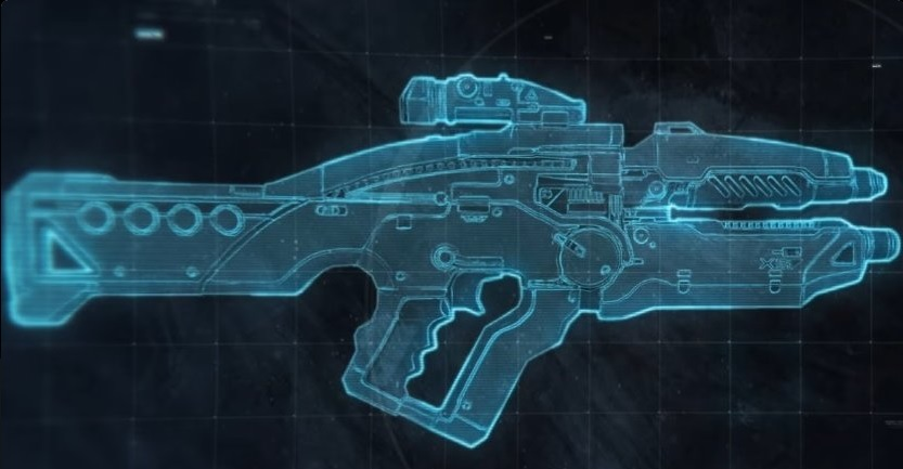 Mass Effect Andromeda 5 Ghost Weapon Blueprint