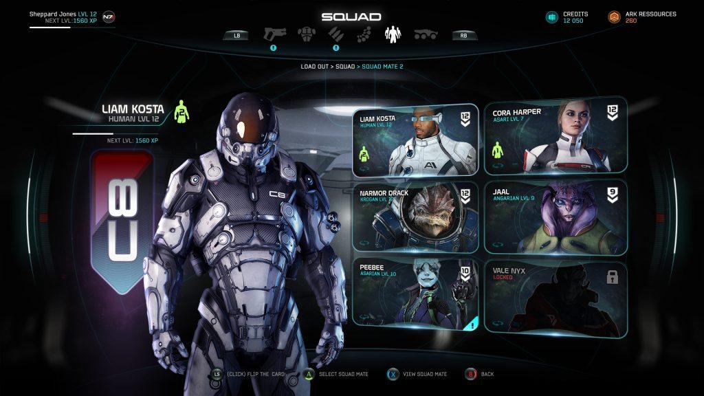 Mass Effect Andromeda Artwork Liam