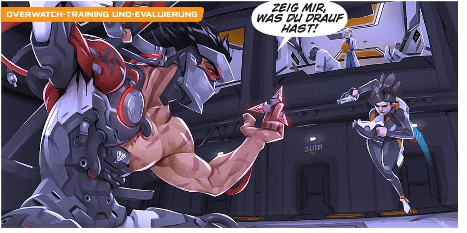 Overwatch Der Aufstand Comic Genji