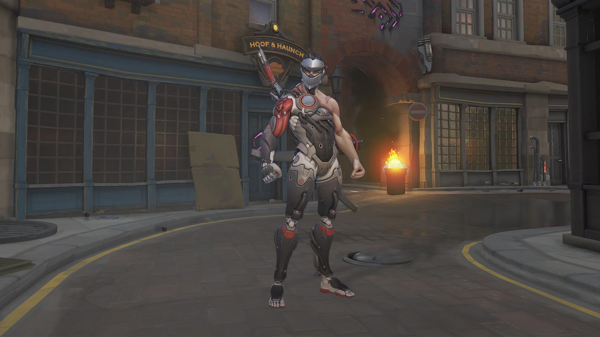 Overwatch Genji Blackwatch