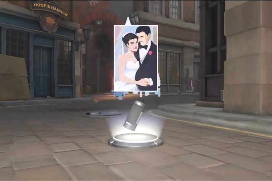 Overwatch Screenshot Amelie Gerard Lacroix Spray