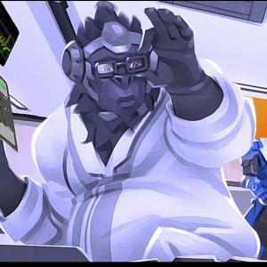 Overwatch Winston Scientist Skin